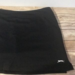 Slazenger Black Golf Skort XL